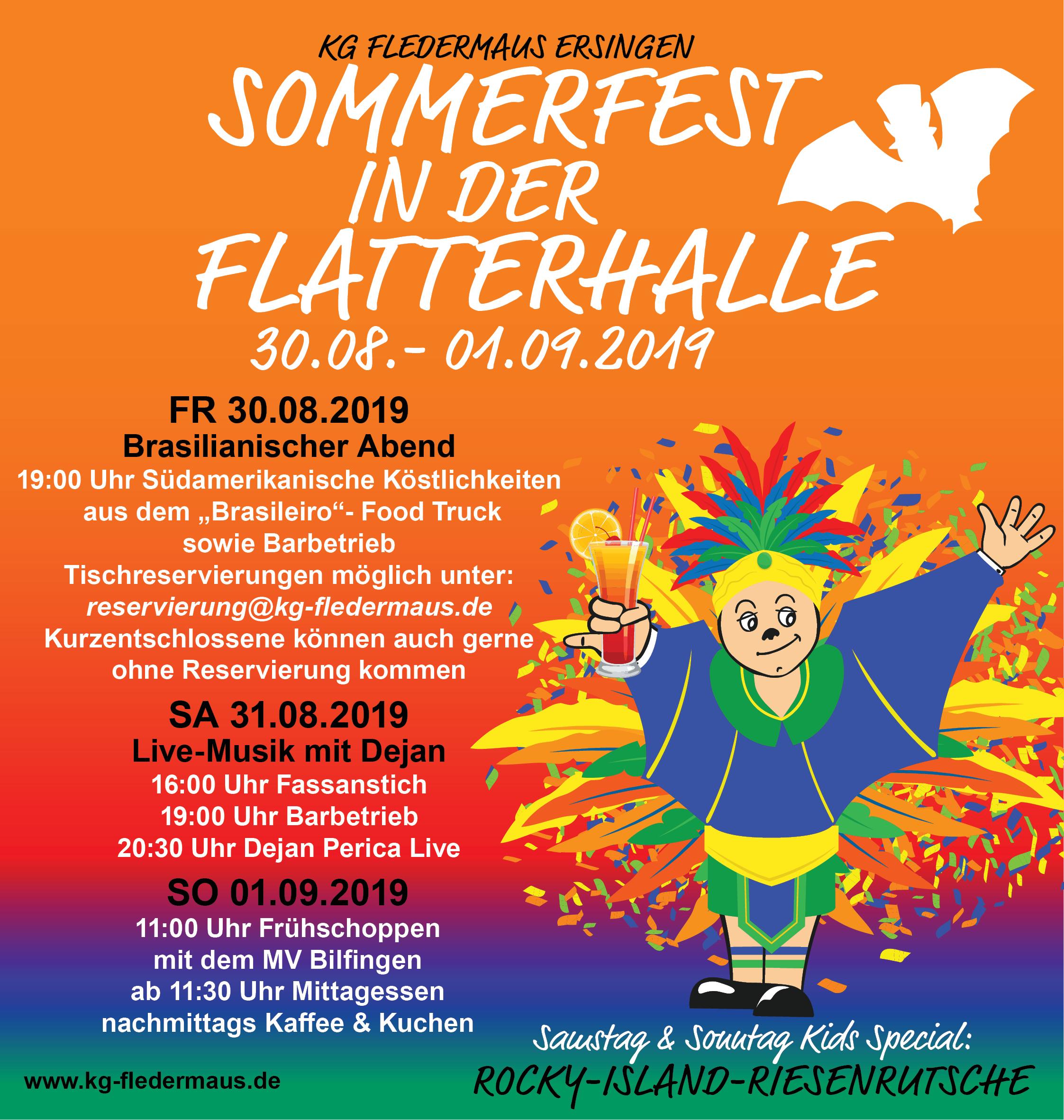 Read more about the article Herzliche Einladung zum Sommerfest 2019