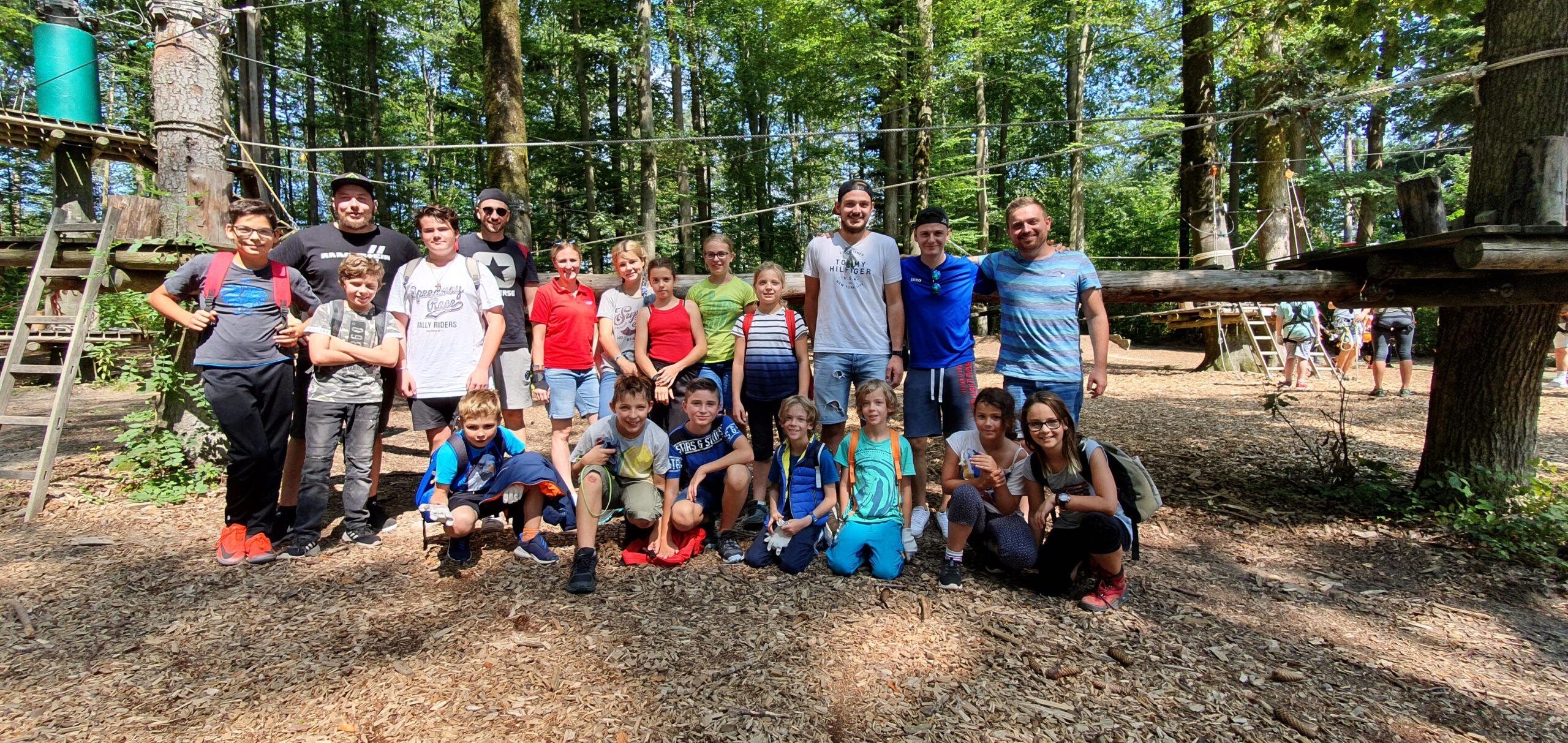 You are currently viewing Mit dem Kinderferienprogramm im Hochseilgarten