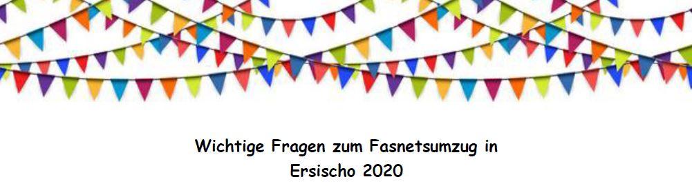 Read more about the article Fragen und Antworten zum Großen Fasnetsumzug in Ersischo