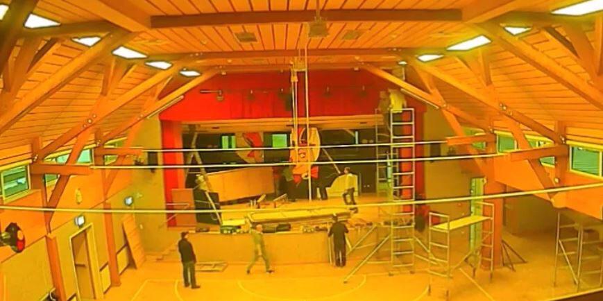 You are currently viewing 09.01.2021: Aufbau der Turn- und Festhalle