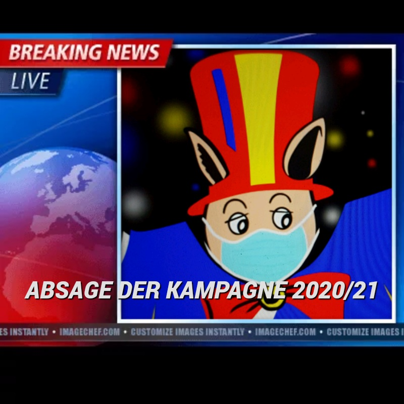 Read more about the article Absage der Kampagne 2020/21